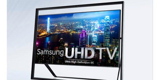 Samsung's new $39,998 LED TV.