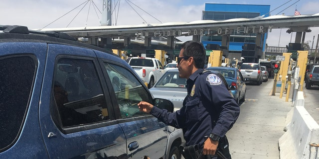 According to federal authorities, 70 percent of the fentanyl coming into the country is being smuggled through the San Ysidro Port of Entry just south of San Diego.