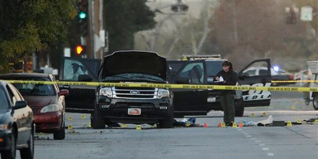 The husband and wife duo who fatally shot 14 people at a holiday party in San Bernardino, Calif., in 2015 were killed by police during a shootout.