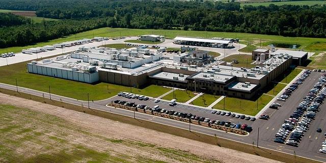 A Sanderson Farms facility in Lumberton, N.C.