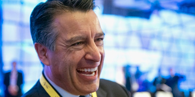 Feb. 20, 2016: Nevada Gov. Brian Sandoval participates in the National Governors Association Winter Meeting in Washington. (AP)