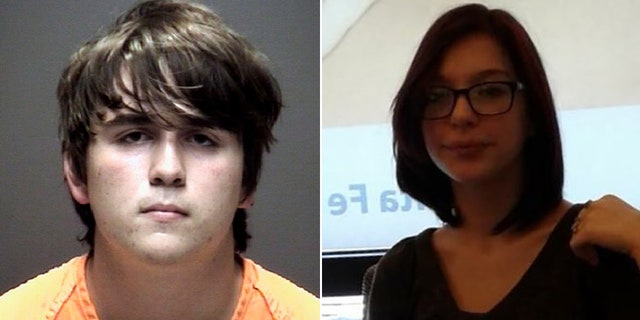 Dimitrios Pagourtzis, left, the suspect in last week's deadly shooting in Santa Fe, Texas, made advances toward victim Shana Fisher for months, her mother says, according to a report.