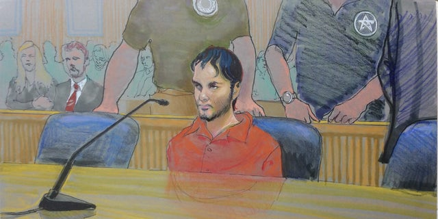 Santiago in court.