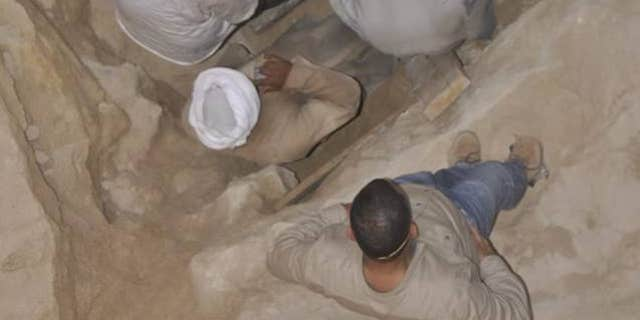 Mystery has swirled around the 2,000-year-old sarcophagus (Egyptian Ministry of Antiquities)