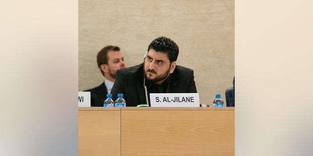 Syria prison and torture survivor Sarmad Al-Jilane.