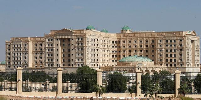 A view shows the Ritz-Carlton hotel in the diplomatic quarter of Riyadh, Saudi Arabia, Nov. 5, 2017.