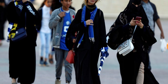The crown prince pushed back on the idea that women in Saudi Arabia must wear a full-length black cloak.