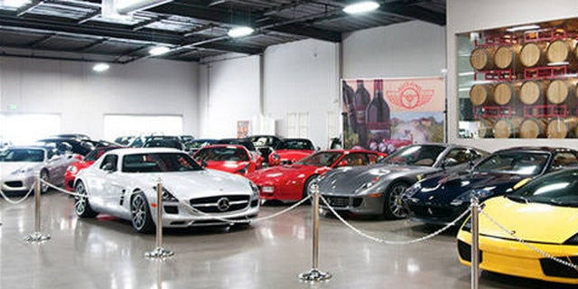 Club Sportiva rents luxury cars, including Lamborghinis, Ferraris and others, to a client base that includes wealthy royals from the Gulf. (Club Sportiva)