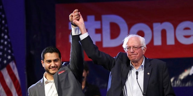 Michigan Democratic gubernatorial candidate Dr. Abdul El-Sayed, left, is trying to become the first Muslim governor in the state.