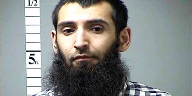 Sayfullo Saipov is accused of killing eight and injuring 11 in a terror attack in New York City.