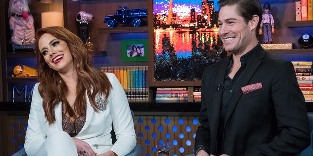 """Southern Charm"" stars  Kathryn Calhoun Dennis and Craig Conover discuss their co-star's sexual assault allegations on ""WWHL."""