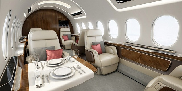 Design features include a luxurious 30ft-long cabin.