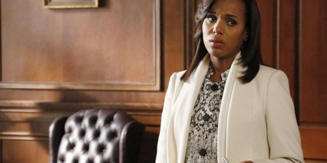 """This image released by ABC shows actress Kerry Washington in a scene from """"Scandal."""""""