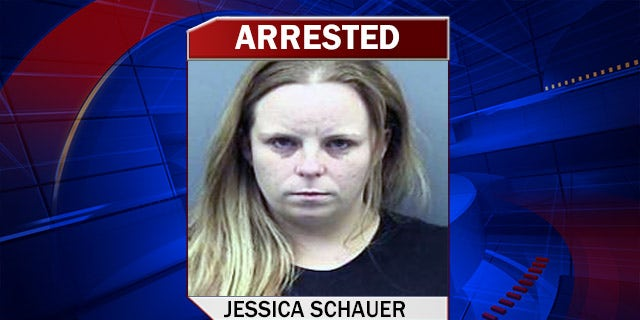 This is the mugshot of Jessica Schaeur.