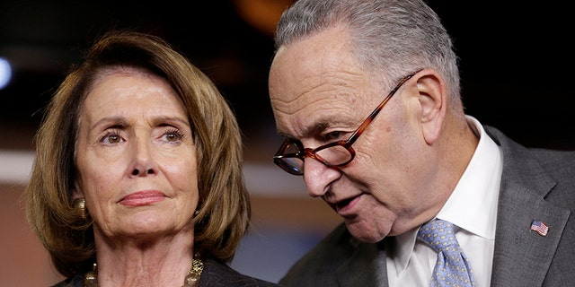 House Minority Leader Nancy Pelosi and Senate Minority leader Chuck Schumer have both demurred on questions about Trump's impeachment -- until Monday.