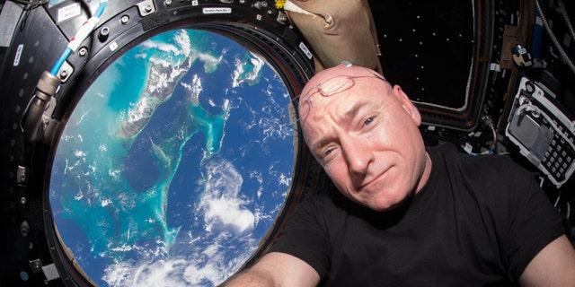 Scott Kelly on the International Space Station (NASA)