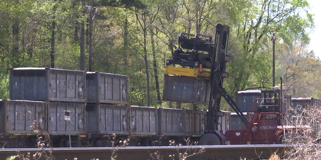 Alabama lawmakers told Parrish's mayor that all of the containers would be removed over the next week and a half.