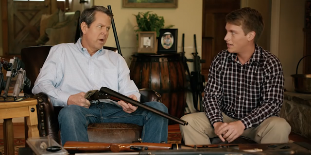"""Georgia gubernatorial candidate Brian Kemp (R) told Fox News, """"This ad is not about a school shooting, it's about protecting my three teenaged daughters."""""""