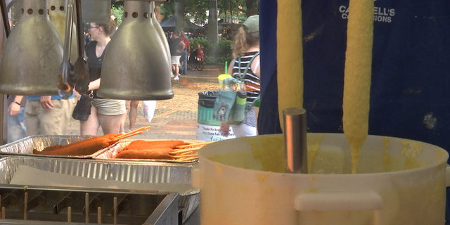 According to fair officials there are more than 80 food options on a stick at the Iowa State Fair.