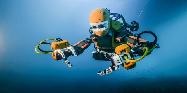 OceanOne from Stanford University. (Frederic Osada and Teddy Seguin/DRASSM)