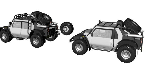 The exotic off-roader will sell for $250,000.