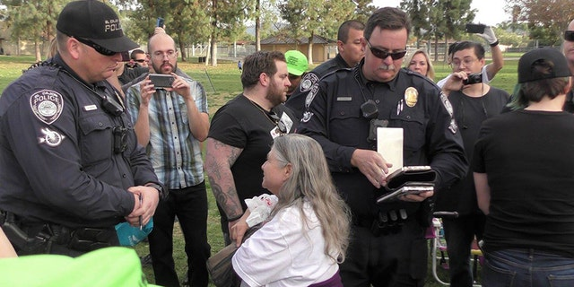 """Each of those given citations were charged with a misdemeanor for violating the """"food sharing"""" rule."""