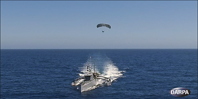 Sea Hunter's has undergone a number of tests at sea. (DARPA)