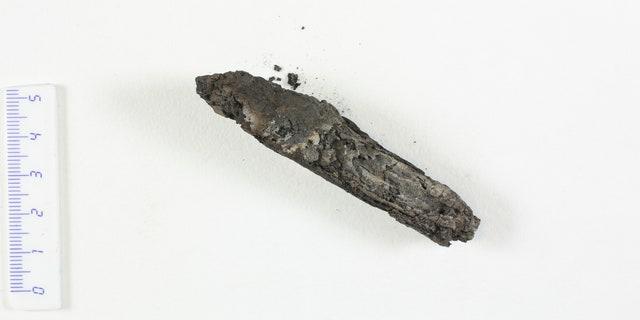 The charred scroll.