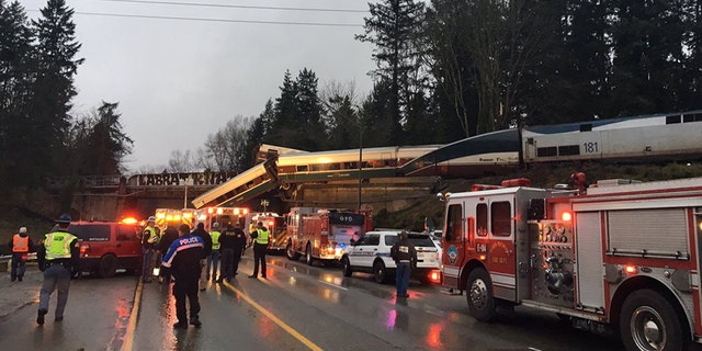 "An Amtrak train derailed south of Seattle early Monday, causing ""injuries and casualties,"" according to officials."