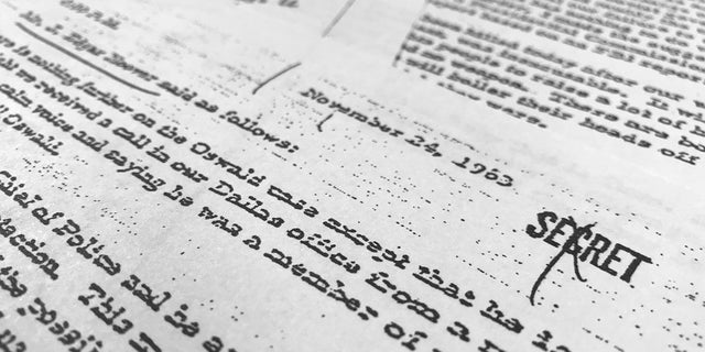 The files on President John F. Kennedy's killing were released on Oct 26, 2017.