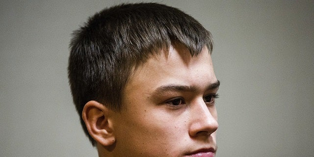 Mark Sekelsky, 16, who was not featured in the first photo, was also charged with second-degree murder.