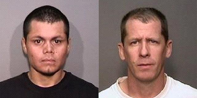 Franc Cano, 27 (l) and Steven Dean Gordon, 45 (r)