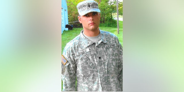 Ricky Raley served in Iraq from 2007 to 2008 with the Indiana National Guard. He was awarded the Purple Heart after an IED exploded near him.