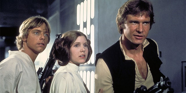 "Carrie Fisher revealed she had an affair with Harrison Ford while they were filming the first ""Star Wars"" movie in 1977."