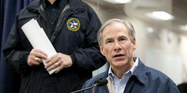 Gov. Greg Abbott talks about the severe weather in Texas.