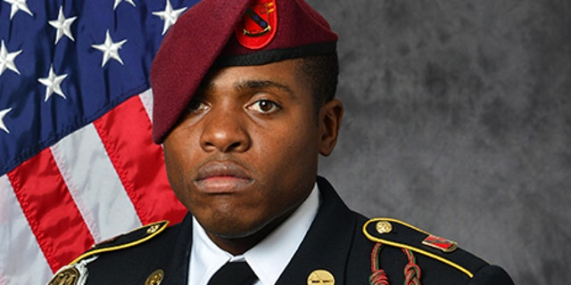U.S. Army, Sgt. Roshain E. Brooks of the Brooklyn borough of New York.