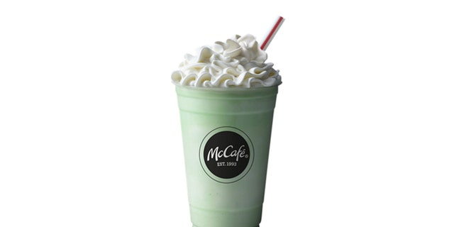 The classic vanilla mint milkshake is back and better than ever.
