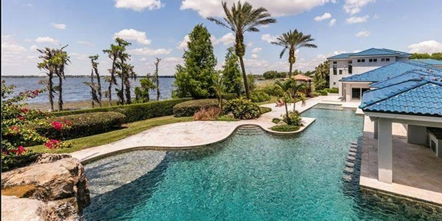 The Orlando mansion can be yours for $28 million.
