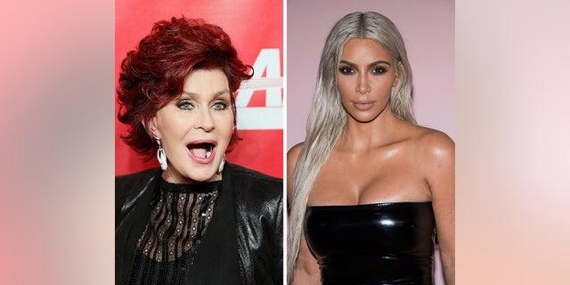 "Sharon Osbourne said she was ""misquoted"" when slamming Kim Kardashian West's nude selfies in an interview."