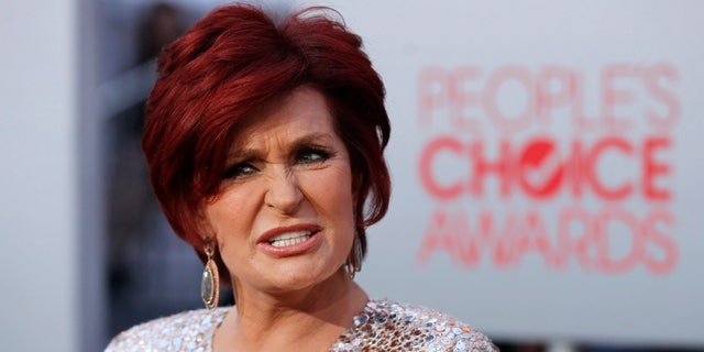 January 11, 2012. Television host Sharon Osbourne arrives at the 2012 People's Choice Awards in Los Angeles.