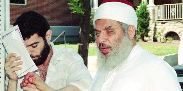 Blind Sheikh Omar Abdel Rahman led a terror cell that had ties to Nosair, according to McCarthy. (Associated Press)