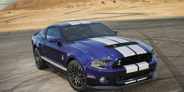 2017 Ford Mustang Shelby Gt500 662 Hp