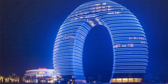 Sheraton Huzhou Hot Spring Resort won't be allowed under new Chinse Government guidelines.