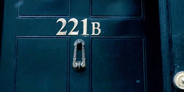 The iconic Sherlock Holmes hub in the BBC series was just half a mile away from where Cumberbatch rescued the delivery cyclist in real life.