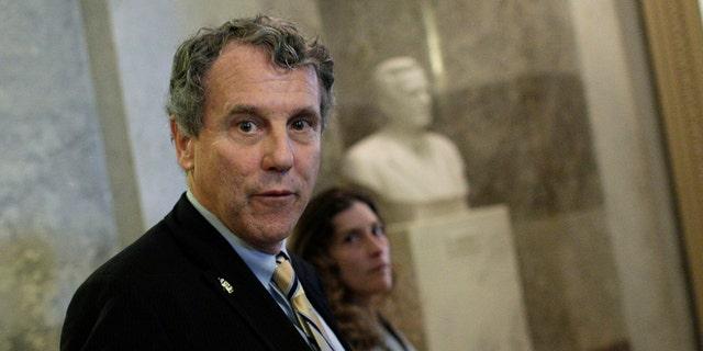 Sen. Sherrod Brown, D-Ohio, says GOP tax bill benefits the rich.