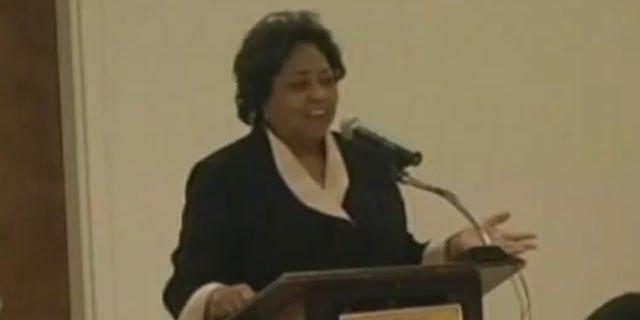 Shown here is USDA Georgia official Shirley Sherrod. (YouTube)