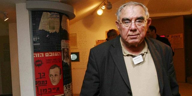 Jan 14, 2007: Former Israeli Shin Bet chief Avraham Shalom is seen during a reunion of Israelis who were involved captivity of Nazi SS officer Adolf Eichmann in Tel Aviv, Israel.