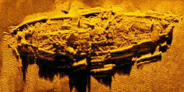 The Civil War-era shipwreck off the coast of North Carolina (North Carolina Department of Natural and Cultural Resources)