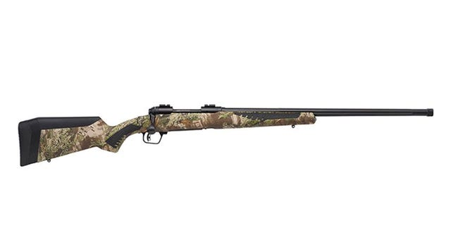 The new Savage 110 Predator AccuFit stock allows users to customize their Predator for the best fit.