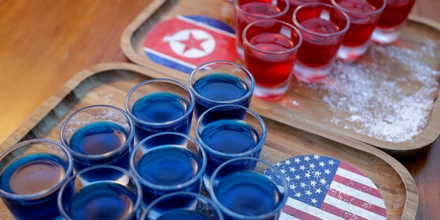 Bars are serving up themed cocktails and red, white and blue drinks.